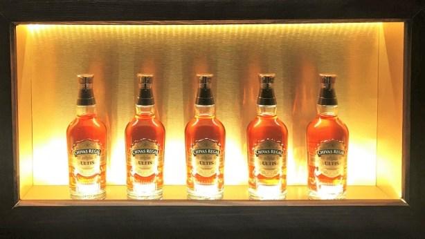 Chivas Régal Ultis, bouteilles haut de gamme de la marque