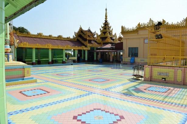 Visite de l'ancienne capitale royale de Sagaing