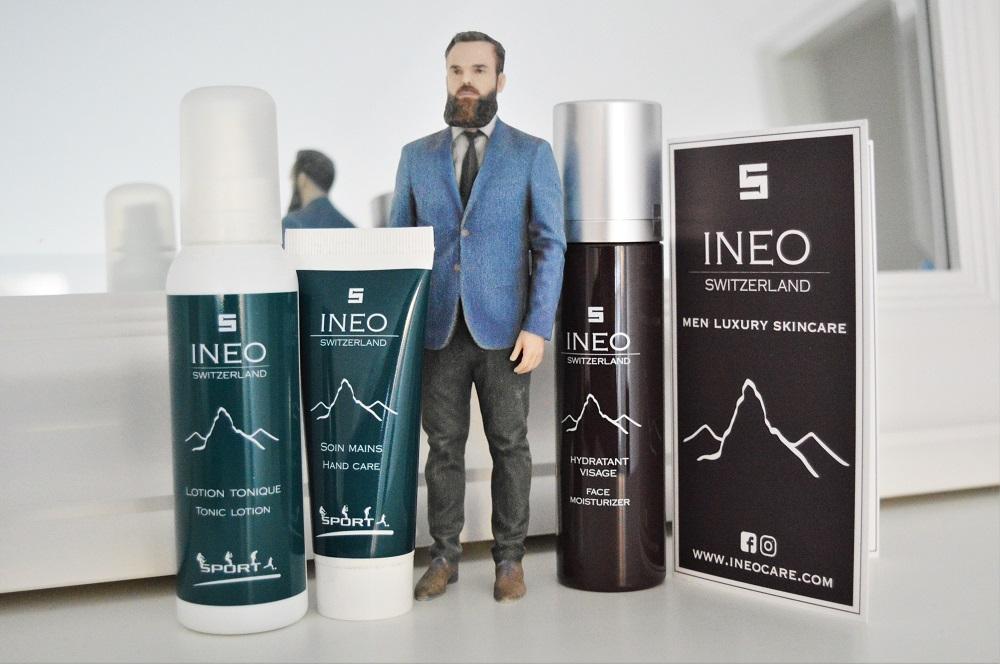 Soins cosmétiques haut de gamme pour homme INEO