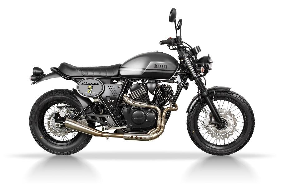 Moto Bullit Bluroc 250 gris métallisé