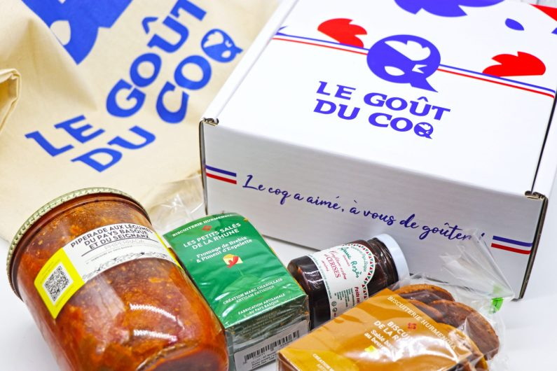 box gastronomique Made In France Le goût du coq