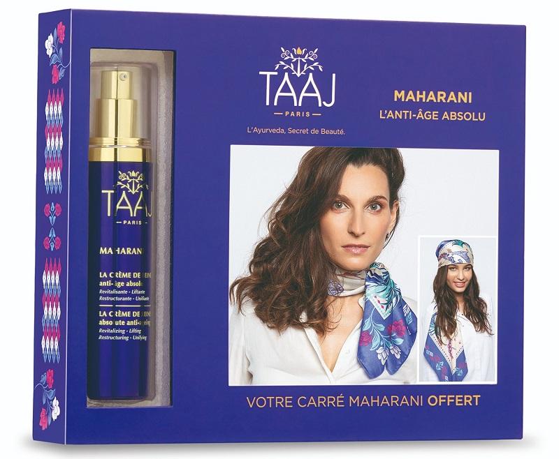 coffret Maharani TAAJ pour prendre soin de sa peau et de son corps.
