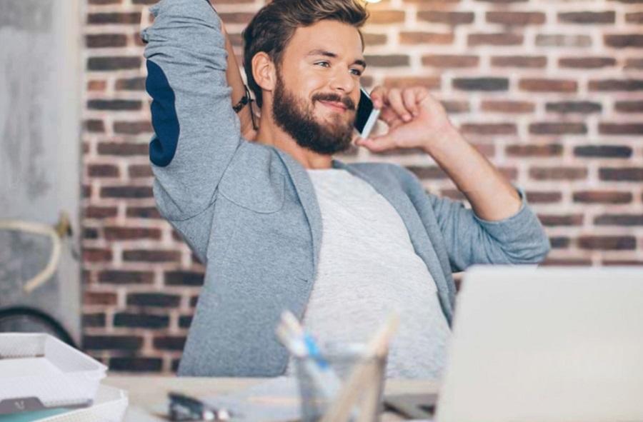 Telearbeit: Richten Sie ein Büro ein
