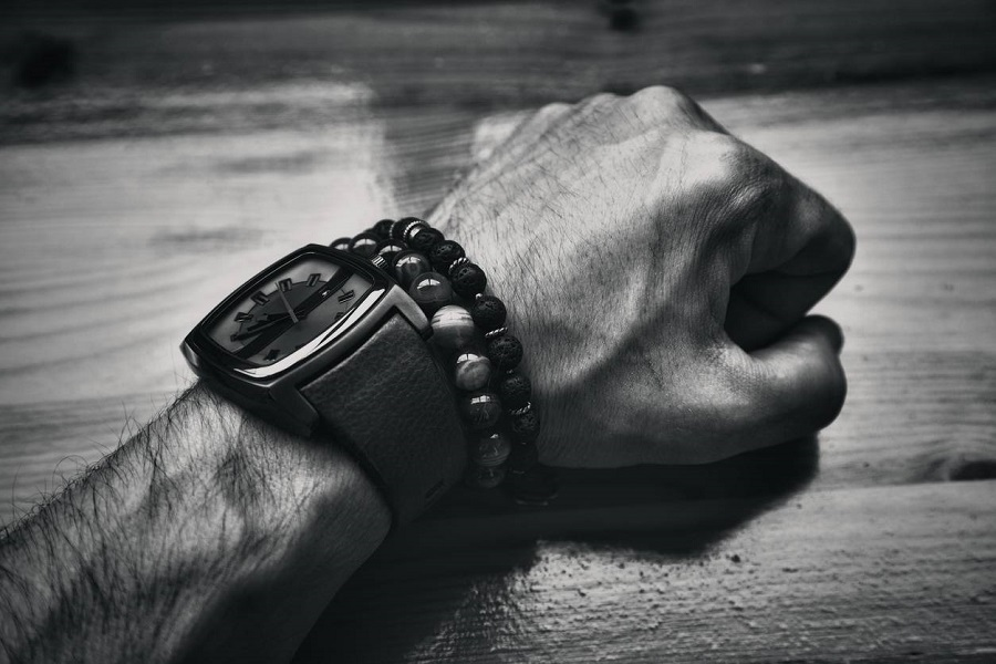 Bracelets de perles pour homme
