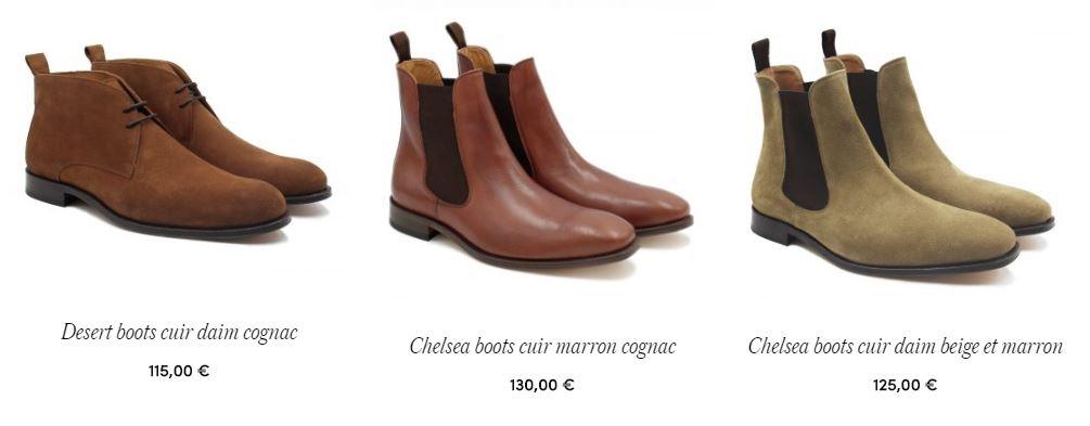 chaussures et Boots homme JULES & JENN