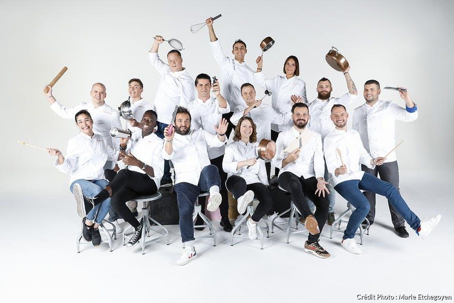 Candidats de TOP CHEF 2020