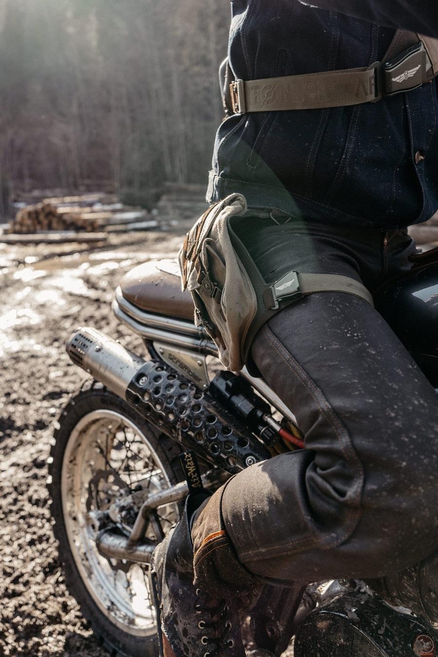 Jean moto pour homme