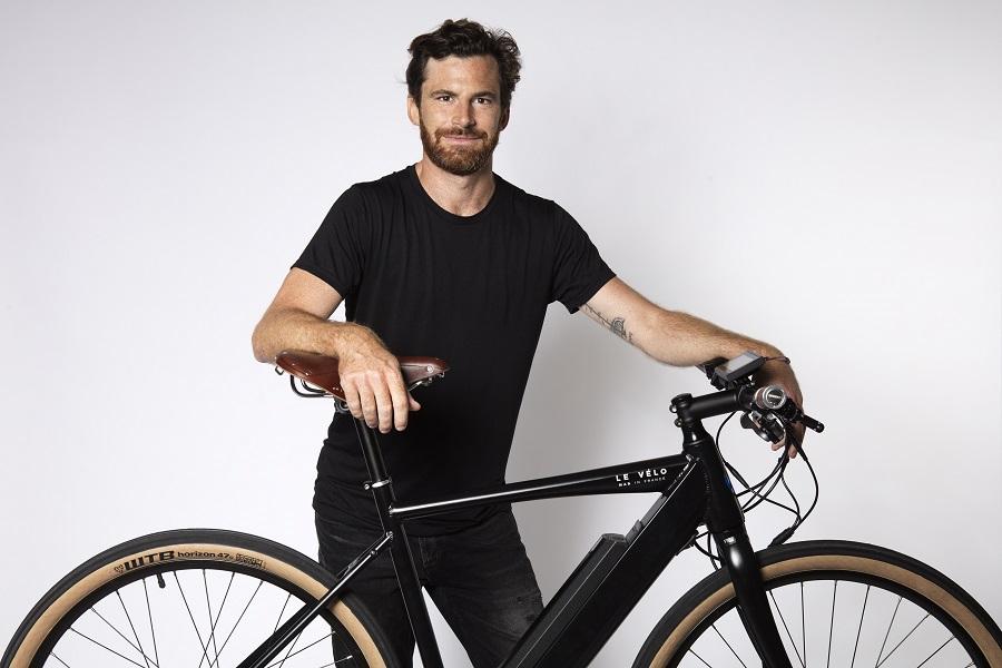 Co-fondateur de LE Vélo Mad : Charles HURTEBIZE
