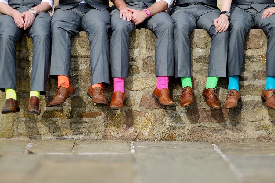 Chaussettes élégantes et fantaisies pour homme