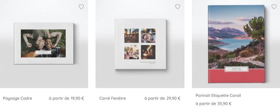 Choisir le format de son livre photos
