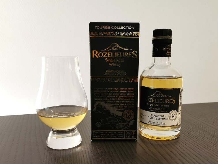 Dégustation whisky Tourbé Collection (46 %) | G. Rozelieures