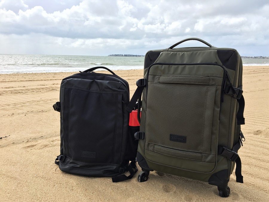 Sac à dos et valise cabine Eastpak