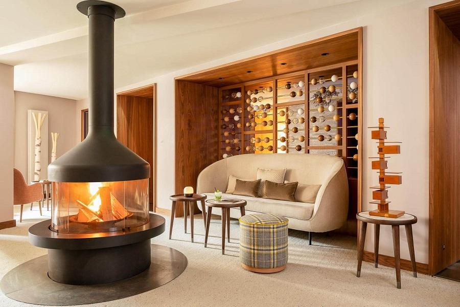 Une belle suite dans l'hôtel Cœur de Megève