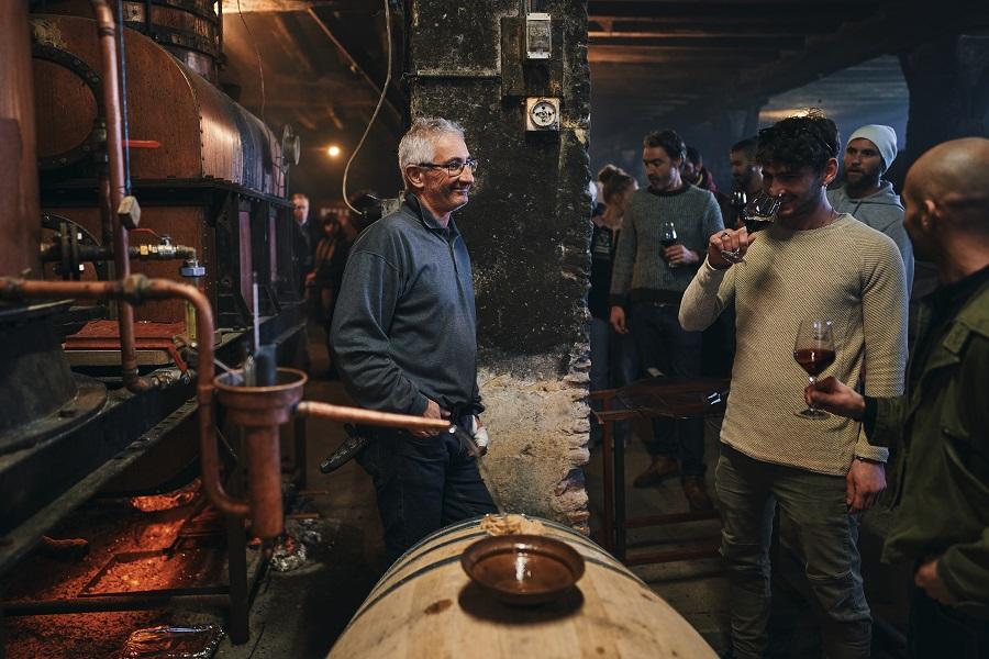 Visite de la distillerie et dégustation