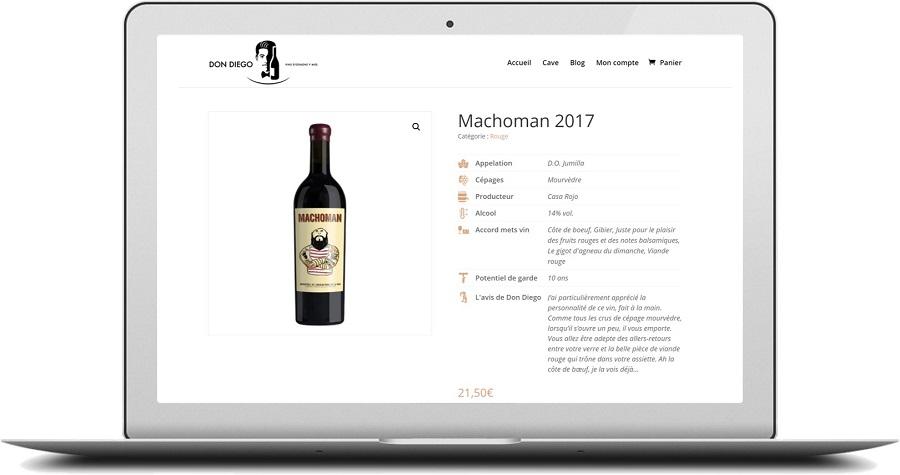 DON DIEGO, e-caviste spécialiste des vins d'Espagne