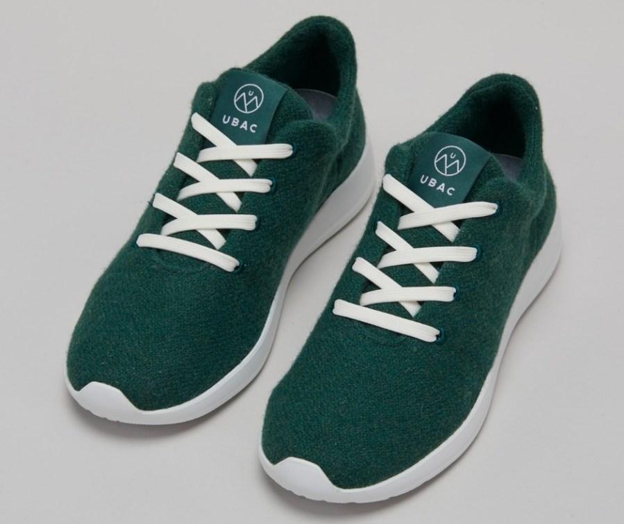 Sneakers UBAC : En laine recyclée - Semelle en canne à sucre - Lacets en bouteille de plastique recyclées