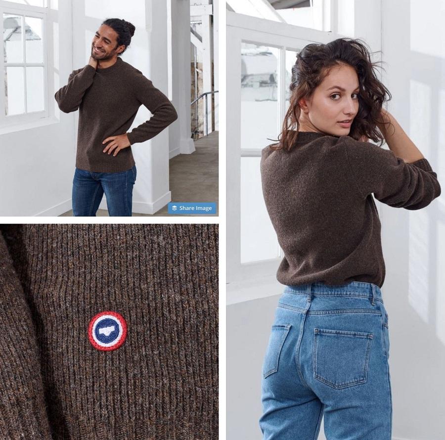 Le Ludo Pull en laine mérinos française