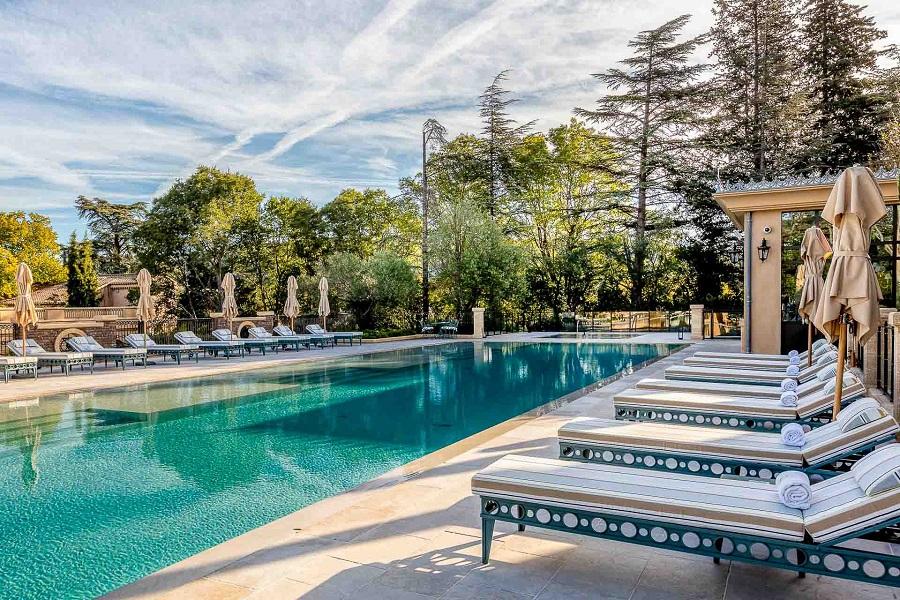 Villa Saint-Ange à Aix-en-Provence - Piscine ©Villa-Saint-Ange
