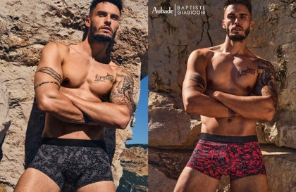 aubade_collab homme Baptiste Giabiconi-collection