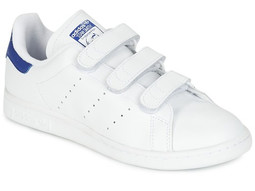 Baskets à scratch pour homme Adidas version bleu