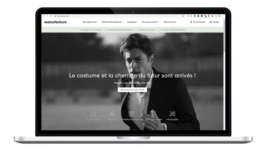 MANUFACTURE : Vêtements pour hommes personnalisables, éco-responsables, à vos mesures et fabriqués en Europe.
