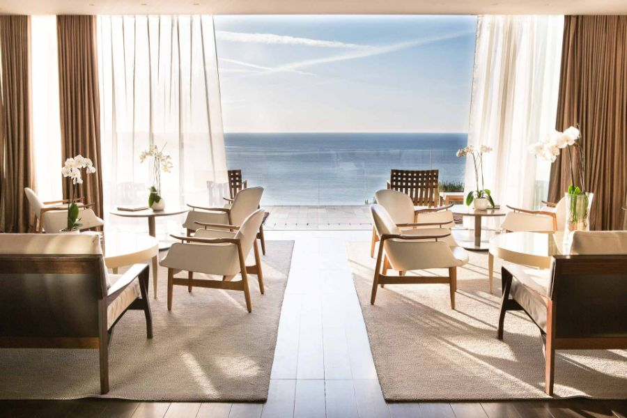 Lounge Hôtel La Reserve Ramatuelle ©Grégoire-Gardette