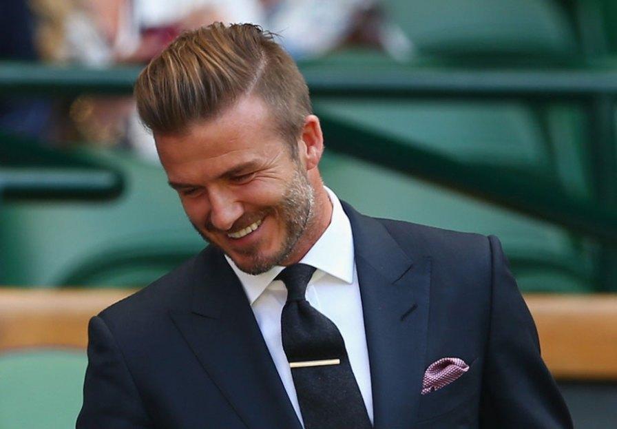 Coupe undercut à la David Beckham