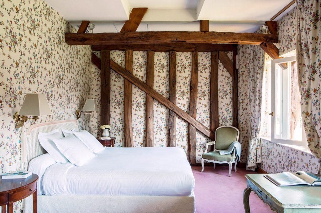 chambre 2 Hôtel Les Hauts de Loire
