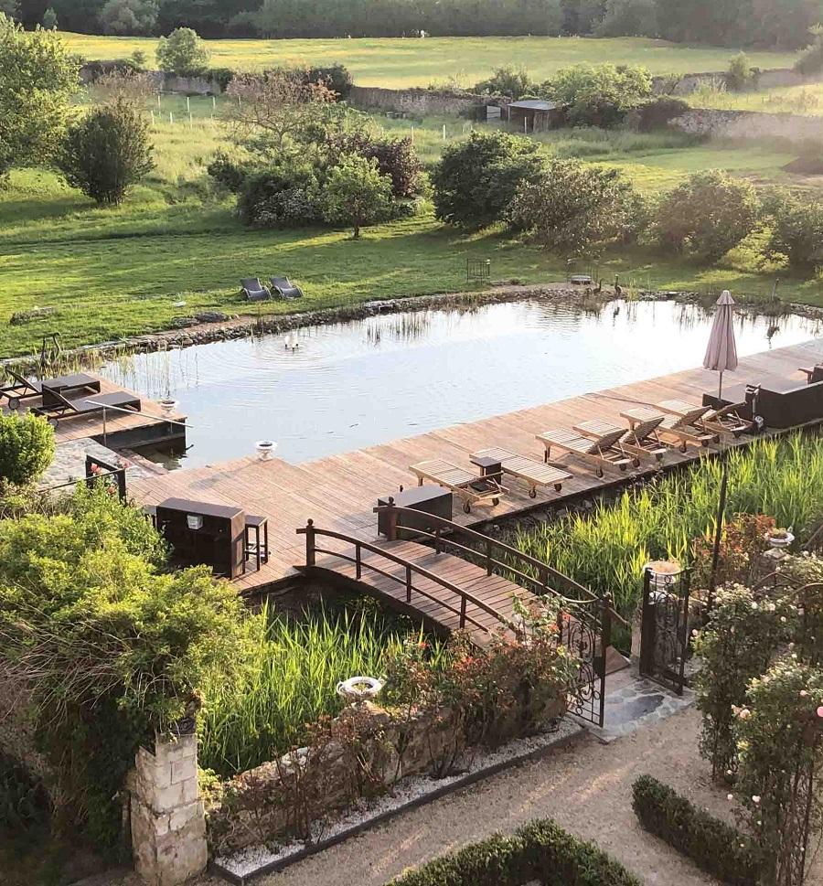Château de l'Epinay - piscine