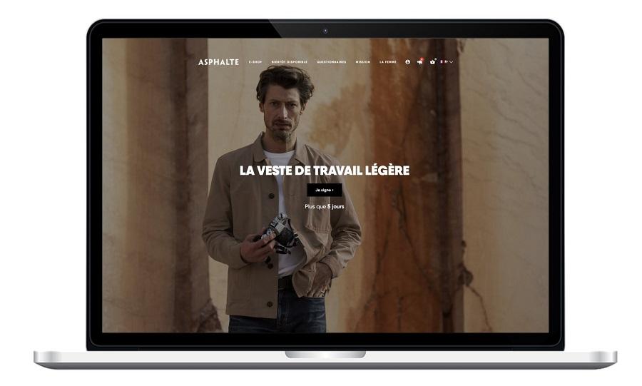 Site internet ASPHALTE