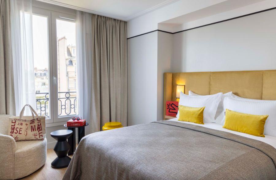 Chambre à l'hôtel 37Bis à Neuilly