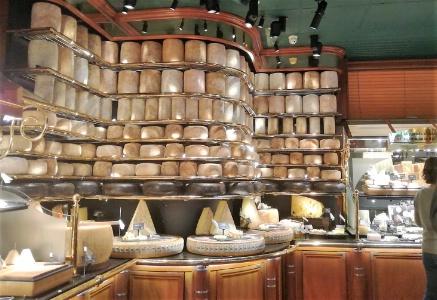 le plus grand plateau de fromage aux