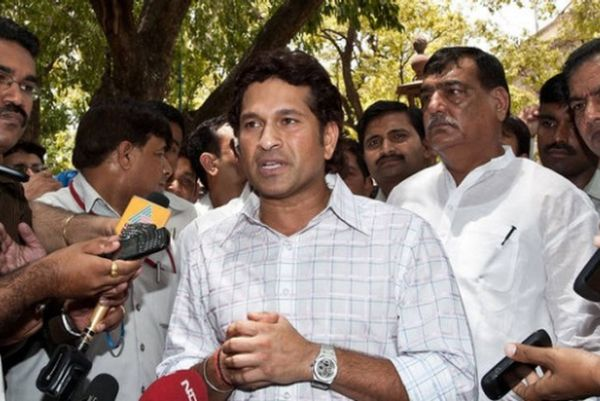 Sachin Tendulkar sworn in as MP