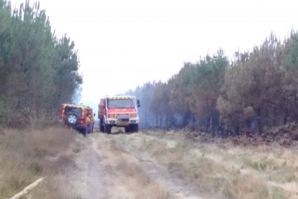 Saint-Jean-d'Illac forest fire