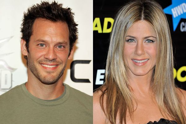 Christopher Gartin and Jennifer Aniston