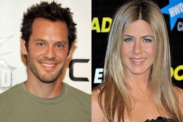 Christopher Gartin and Jennifer Aniston