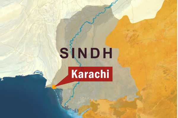 Karachi map