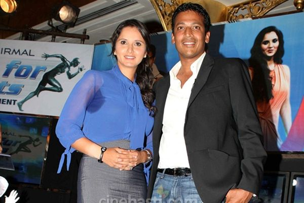 Sania Mirza and Mahesh Bhupathi