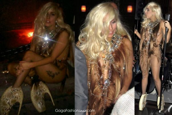 Lady Gaga in VPL