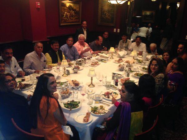 Ajit Wadekar's men felicitated in USA