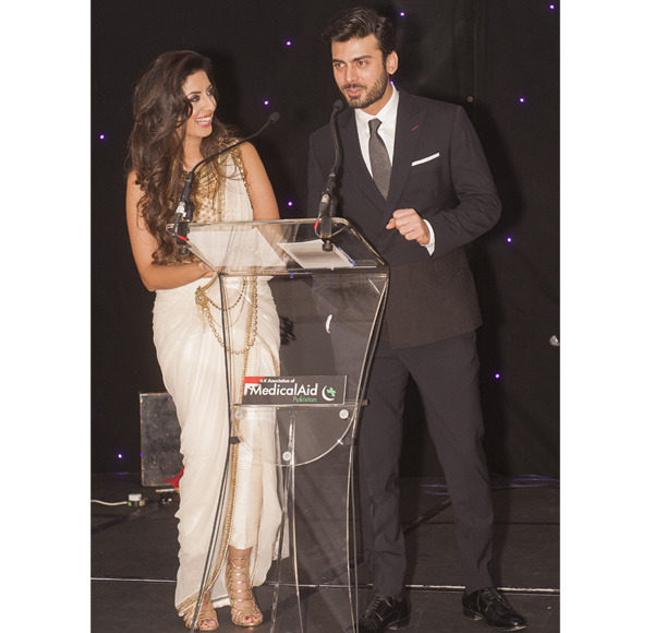 Noreen Khan and Fawad Khan