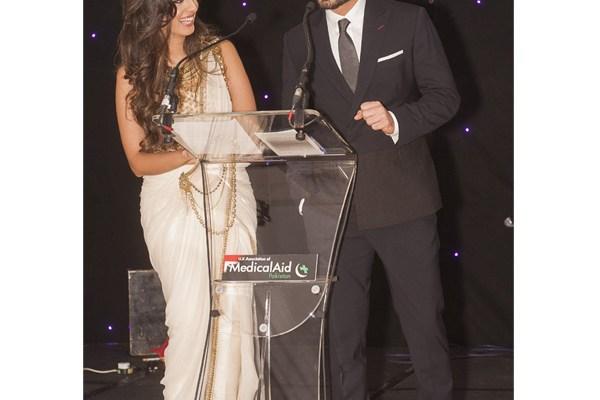 Noreen Khan and Fawad Khan