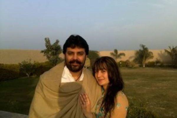 Dost Muhammad Khosa and Sapna Khan