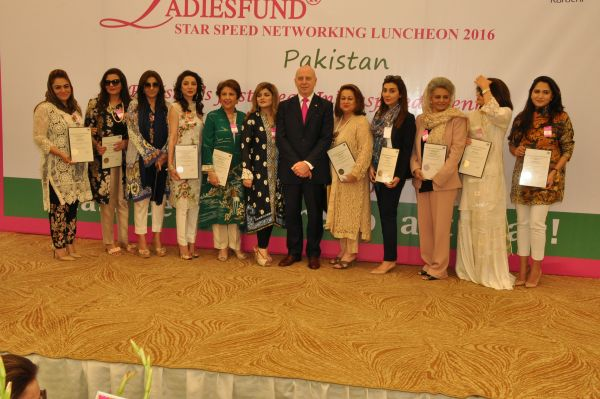 The LADIESFUND 2016 Women of Inspiration with John & Tara