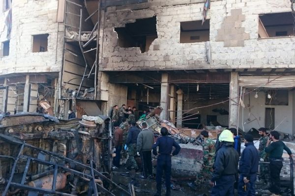 Bomb attacks near Hazrat Zainab's shrine in Syria