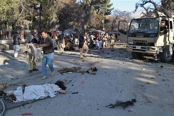 Taliban Suicide Attack Targets FC Vehicle