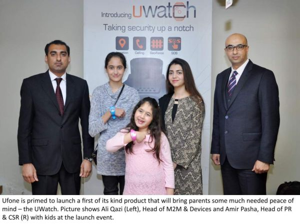 Ufone to launch UWatch