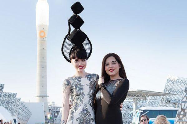 Jessica Minh Anh and Syeda Amera at Gemasolar, Spain