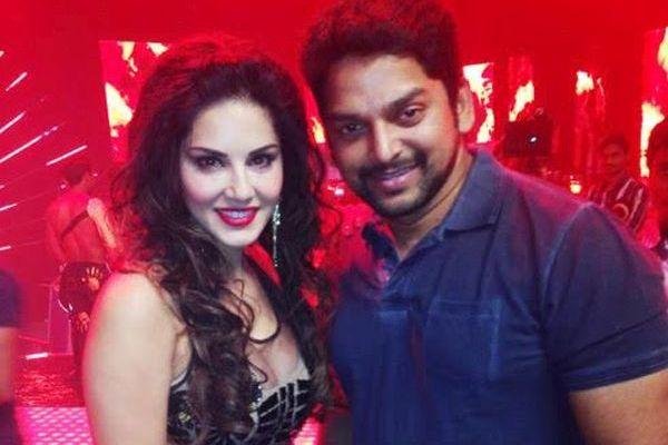 Sunny Leone with Vishnu Deva