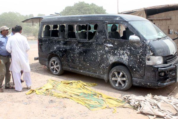 Karachi IED blast
